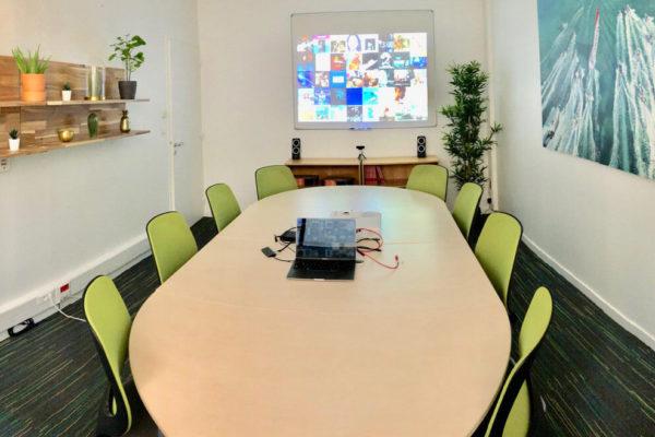 Salle de réunion rue de Chateaubriand